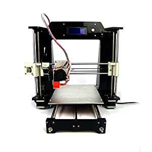 HICTOP Prusa I3 3D Desktop Printer DIY High Accuracy CNC Self-assembly Tridimensional