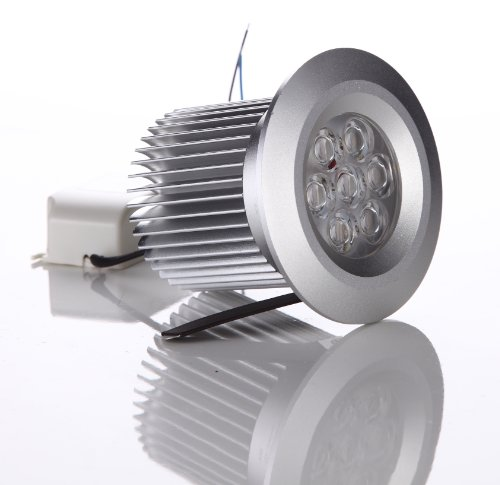 Everbrite 9W 650Lm 2.5Inch 110V Dimmable Recessed Downlight.Equivalent To 60W Halogen Warm White 45°For Home Lighting