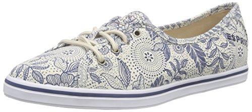 ESPRIT Maria Flower LU, Damen Sneakers, Blau (415 ink), 38 EU thumbnail