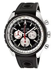 Best Price Men's Navitimer Chrono Automatic Mechanical Black Dial Black Rubber Limited time