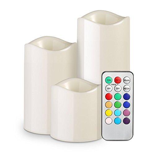 3x-LED-Teelichter-Flammenlose-Kerzen-Homasy-Flackernd-Batteriebetriebene-LED-Teelichtern-Tealight-Candles-mit-Fernbedienung-Flackereffekt-und-Brenndauer-100-Stunden-fr-Weihnachtsbaum-Weihnachtsdeko-Ho
