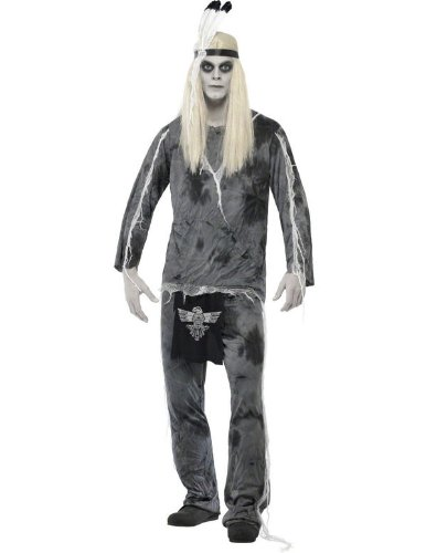 Smiffys Men's Ghost Town Indian Costume