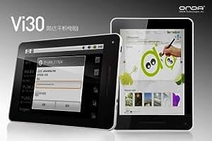 【4:3 高解像度液晶 アンドロイド 4.0 タブレットPC 】 ONDA Vi30 Deluxe Android 4.0 8インチ タブレットPCセット A10-1.2GHz 512RAM 8GB 静電 マルチタッチ マーケット対応