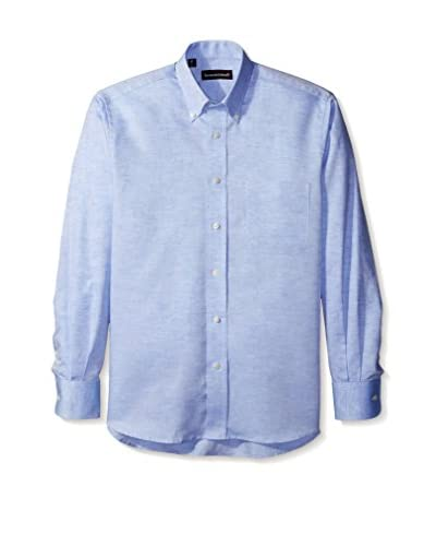 Kenneth Gordon Men's Solid Button Down Sportshirt