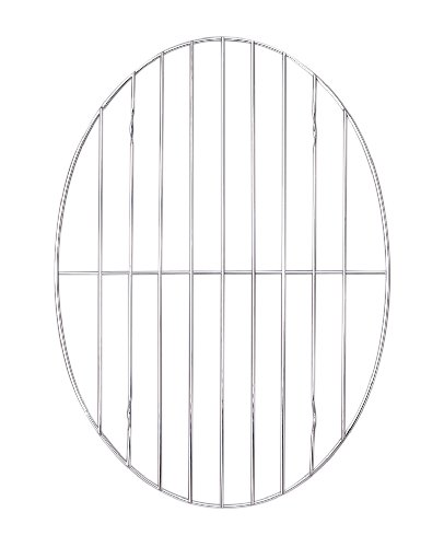 Harold Imports Oval Roasting Rack, 11.75 by 8-.5-Inch
