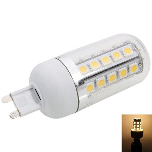 Corn Bulbs - G9 5W 34Led Smd5050 2700-3200K Warm White Led Corn Light Bulb With Cover (220-240)