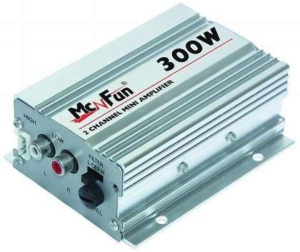 300W Auto Verstärker Endstufe SilverStar 300
