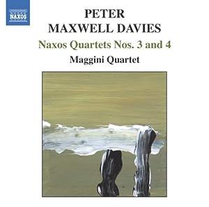 Naxos Quartets Nos. 3 & 4