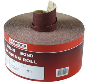 115mm X 5m X 150g Sandpaper Roll Abs11505150 By Abracs
