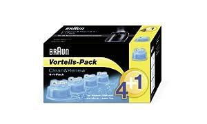 Braun CC-System Reinigungskartuschen - Promo-Pack 4+1