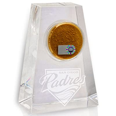 Steiner Sports San Diego Padres Tapered Crystal Paperweight