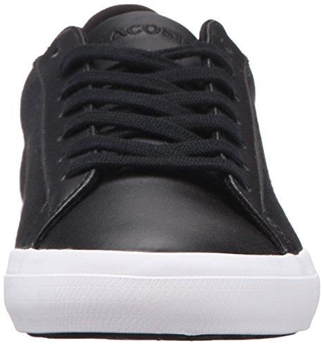 Lacoste Men's Lerond 316 1 Fashion Sneaker, Spm Black, 9.5 M US
