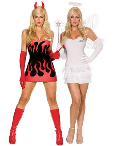 Women's Angel and Devil Costume
