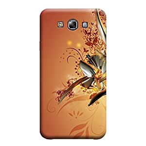 CaseLite Premium Printed Mobile Back Case Cover With Full protection For Samsung E7 (Designer Case)