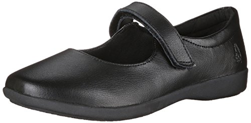 Hush Puppies Lexi Uniform Mary Jane (Toddler/Little Kid/Big Kid), Black, 4.5 W US Big Kid (Hush Puppies Shoes Kids compare prices)
