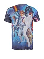 Star Wars Camiseta Manga Corta A New Hope (Azul / Multicolor)