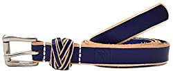 Sperry Top-sider Womens 20mm Ce Braid Loop Blue (Med)