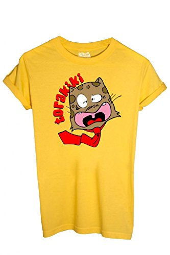 T-SHIRT TORAKIKI SPANK - CARTOON by MUSH Dress Your Style Uomo-L