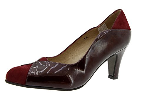 Scarpe donna comfort pelle Piesanto 5205 décolleté scarpe di sera comfort larghezza speciale
