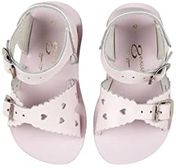 Salt Water Sandals by Hoy Shoe Sweetheart, Pink,5 M US Toddler