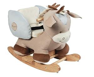 nattou rigolos 815208 eveil bascule cheval amazon. Black Bedroom Furniture Sets. Home Design Ideas