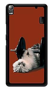 "Humor Gang Cute Kitty Cat Body Building Printed Designer Mobile Back Cover For ""Lenovo A7000 - Lenovo A7000 Plus - Lenovo A7000 Turbo - Lenovo k3 note"" (3D, Glossy, Premium Quality Snap On Case)"