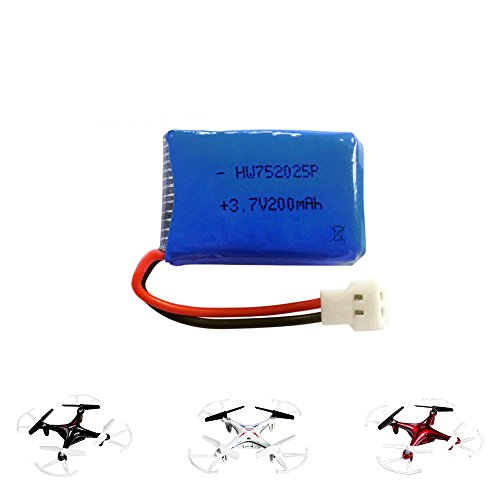 37V-200mAh-Akku-fr-Syma-Quadcopter-X13-Drohne-Ersatzteil-Modellbau-Neu