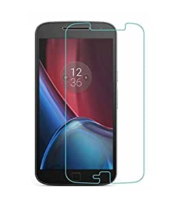 Motorola Moto G4 Plus Compatible Tempered Glass Screen Protector (Antishock, Curved Edged) (Pack of 2, Only Front Transparent) (Combo Offer, get a VJOY 5200 mAh Power-Bank WHITE) (1 Year Replacement Guarantee, Li-ion Battery, Long Battery-Life) worth Rupee 1599/- absolutely free with Screen Protector)