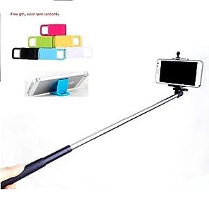 handheld monopod extendable selfie handheld stick monopod pod for iphone samsung camera with 1. Black Bedroom Furniture Sets. Home Design Ideas