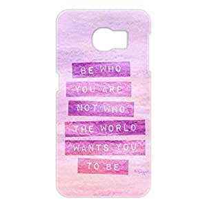 a AND b Designer Printed Mobile Back Cover / Back Case For Samsung Galaxy S6 Edge (SG_S6_3D_3147)