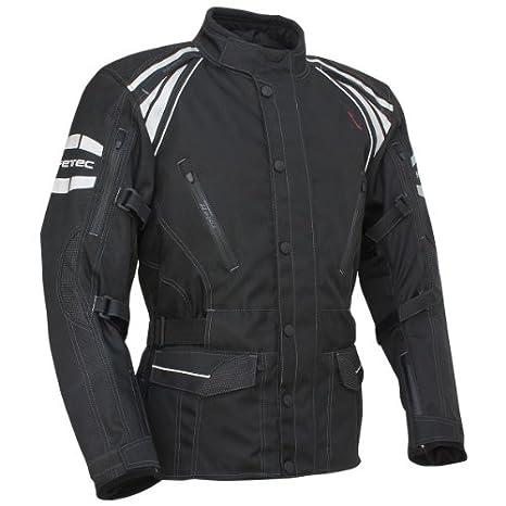 Roleff Racewear 9592 Blouson Moto Textile Marbella, Noir, S