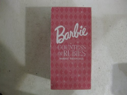 Barbie Countess Of Rubies Barbie Resin Egg From Mattel 2001 (Resin Barbie compare prices)