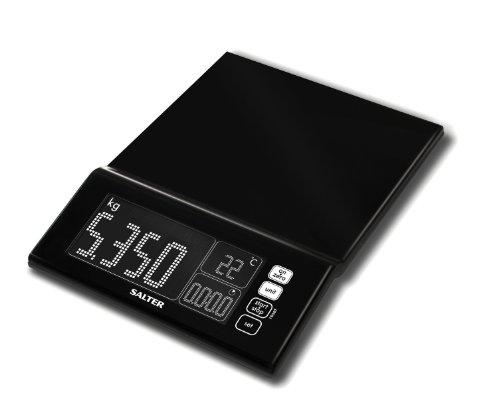 Salter Balance Electronique Affichage Géant Plastique Noir