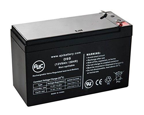 Batterie Panasonic 12V 9Ah 12V 9Ah Acide scellé de plomb - Ce produit est un article de remplacement de la marque AJC®
