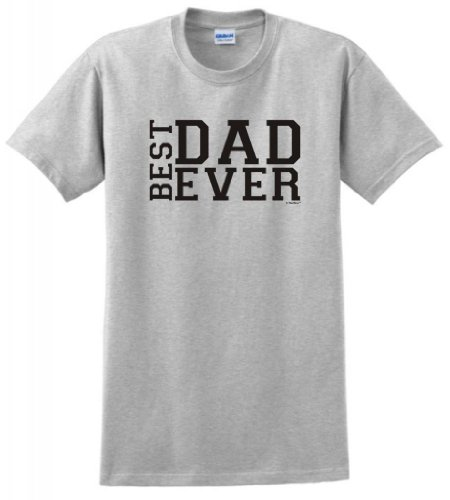 Best Dad Ever Father'S Day T-Shirt Large Ash front-933604