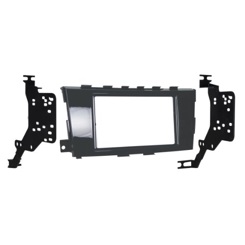 Metra 95-7617GHG Double DIN Dash Kit for Select 2013-Up Nissan Altima Vehicles (Black)