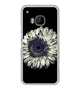Beautiful White Flower 2D Hard Polycarbonate Designer Back Case Cover for HTC One M9 :: HTC One M9S :: HTC M9 :: HTC One Hima