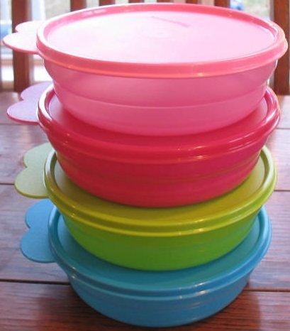 Tupperware Microwave Cereal Bowl Set