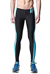 DESMIIT Men\'s Fitness Tights US M Asian XL