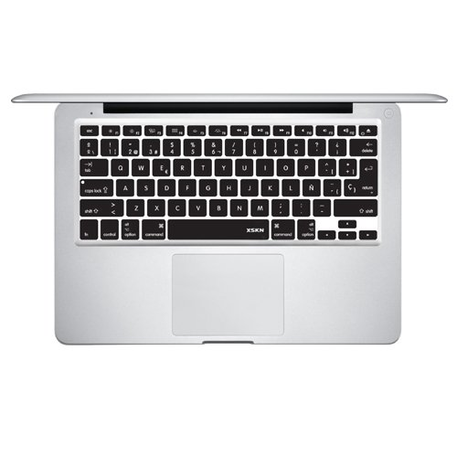 Spanish Language Keyboard Cover Silicone Skin For Macbook Pro 13 15 17 Inch
