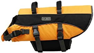 Kyjen Outward Hound Life Jacket, Large, Orange