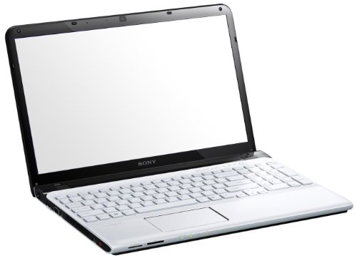 Sony Vaio SVE1512C6E, Processore Intel Pentium B980, 2.4 GHz, 15.5 Pollici, HDD 500 GB, RAM 4 GB, Colore Bianco