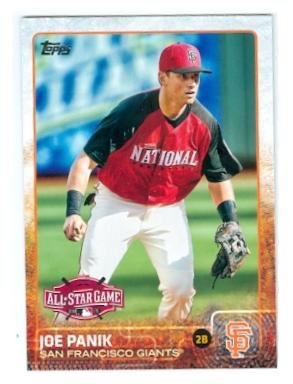 Joe Panik baseball card (San Francisco Giants) 2015 Topps #US357 All Star Game (2015 All Star Game compare prices)
