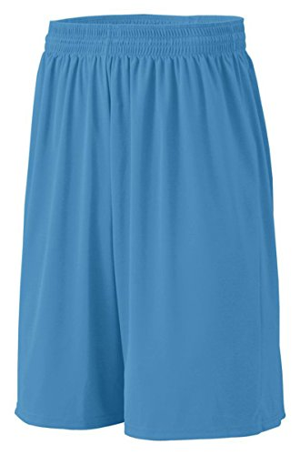 Augusta Youth Baseline Short (Columbia Blue) (S)
