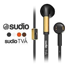 buy Sudio Tva In-Ear Classic Hi-Tech Hand Made Quality Design 14.2Mm Micro Remote Earphone Black
