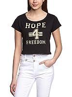 Blend Camiseta Manga Corta (Negro)