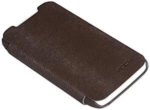 Rock Big City Leather Case Side Flip for HTC One X (Coffee)