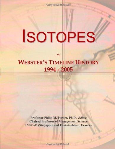 Isotopes: Webster'S Timeline History, 1994 - 2005