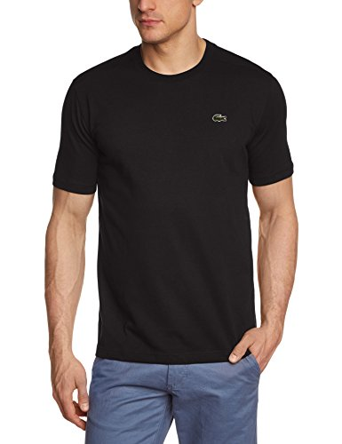Lacoste - TH7618-00, T-shirt da uomo, nero (schwarz  (black 031)), XL
