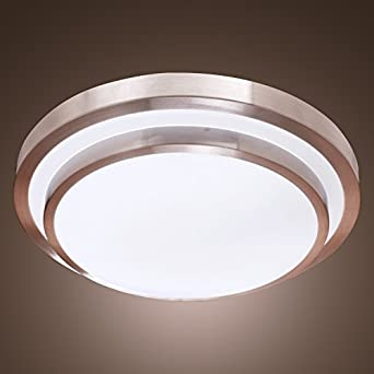 Lightinthebox White Flush Mount In Round Shape Modern Ceiling Light Fixture For Kitchen